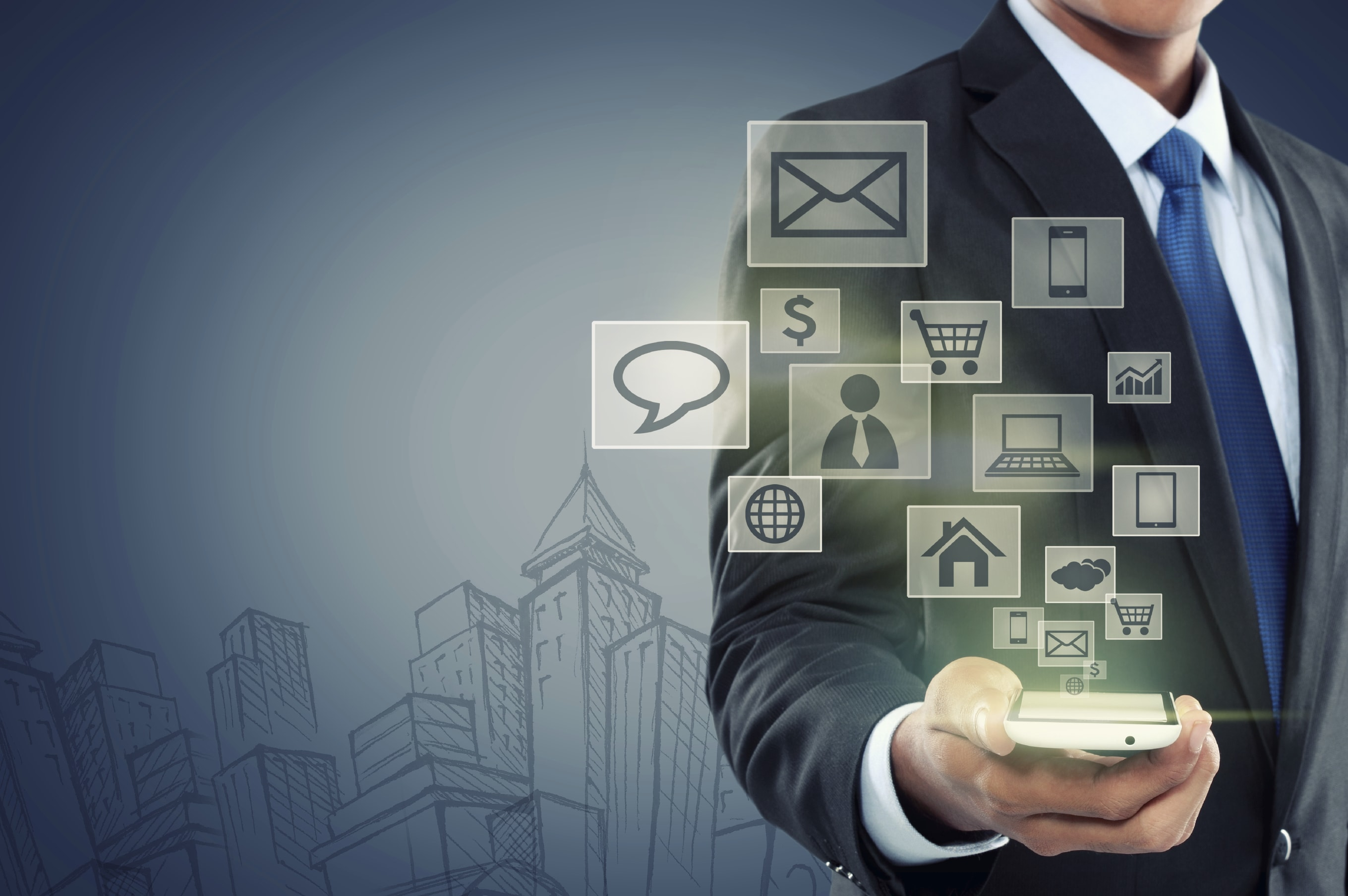 Combination of Social Media, Mobility, Analytics and Cloud provides business advantage through mobile application